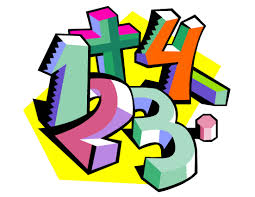 1, 2, 3, 4 with a plus sign in multi colors signifying math